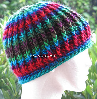 Ravelry  Chunky Ribbed Hat pattern by Zoe Deterding d5b8fd7e204