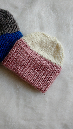 Ravelry Quick Knit Double Brim Preemie Hat Pattern By Alex Resch
