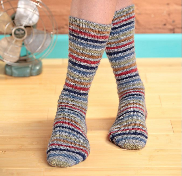 Ravelry: Knitting Socks with Knitting Daily: 8 Free Sock Knitting ...