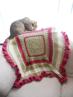 Ravelry Petit Chou Baby Blanket Pattern By Abigail Haze