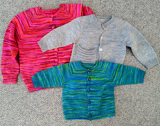 4275688e0e735 Ravelry  Top Down Basic Baby pattern by Angela Juergens
