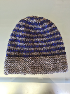 8d2111c9cba Ravelry  Striped Hat With Roll Back Brim pattern by Patons Australia