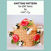 Honey_bee_hive_tea_cosy_paper_small_best_fit