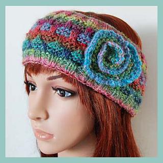 Ravelry  Dora Ear Warmer Headband Hair Wrap pattern by Adel Kay 4bf3058738c