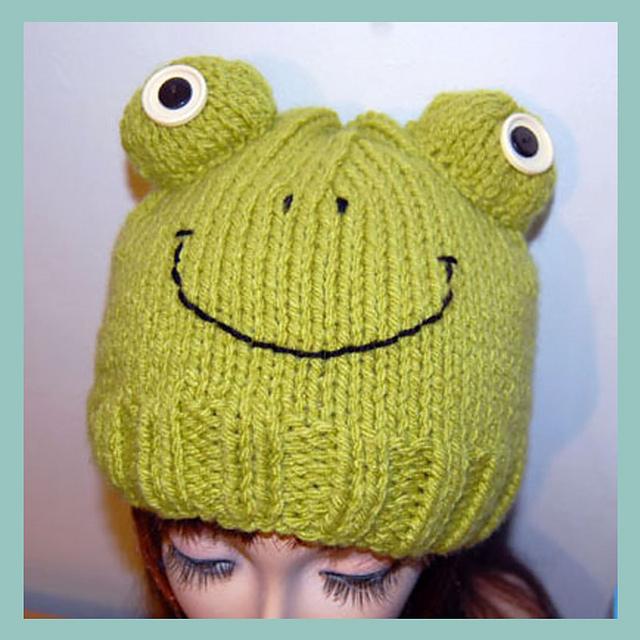 0c995e867e0 patterns   Adel Kay s Ravelry Store.   Fraser Frog Ski Cap Beanie