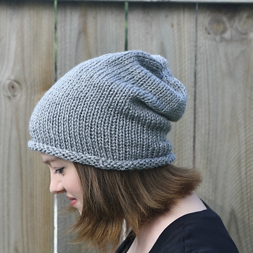 Ravelry Simple Slouch Hat Pattern By Robyn Devine