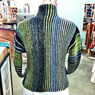Free Knitting Pattern Cropped Jacket : Ravelry: #26 Cropped Jacket pattern by Irina Poludnenko
