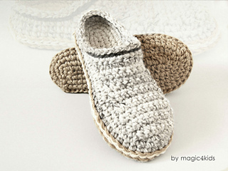 Ravelry Men Basic Clogs Pattern By Adriana M