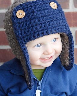 Ravelry  The Bomber Hat pattern by Adrienne Engar 95ed9f174a10
