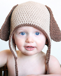 a5653458adf Ravelry  Doggy Earflap Hat pattern by Adrienne Engar
