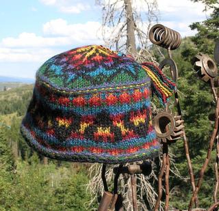 866340d2698 Ravelry  Black Sheep Khroma (aka Ram s Horn) Hat pattern by Anne Carroll  Gilmour