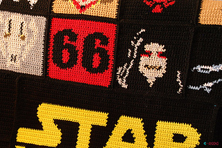 Amigurumi Star Wars Patterns Free : Ravelry star wars blanket pattern by ahooka migurumi
