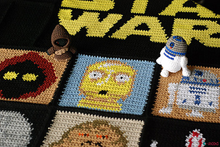 Amigurumi Star Wars Patterns : Ravelry: star wars blanket pattern by ahooka migurumi