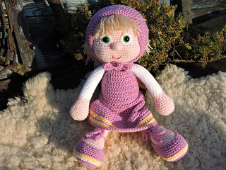 Amigurumi Tutorial Masha : Ravelry: The Doll Masha - Amigurumi pattern by Kipre & Pahkla