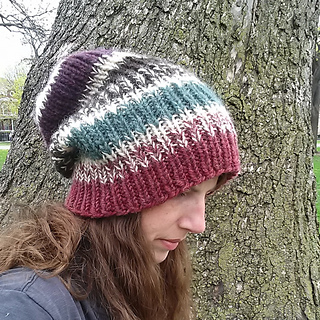 f4a378c5 Ravelry: The Perfect Knit Slouch Hat pattern by Carrissa Knox