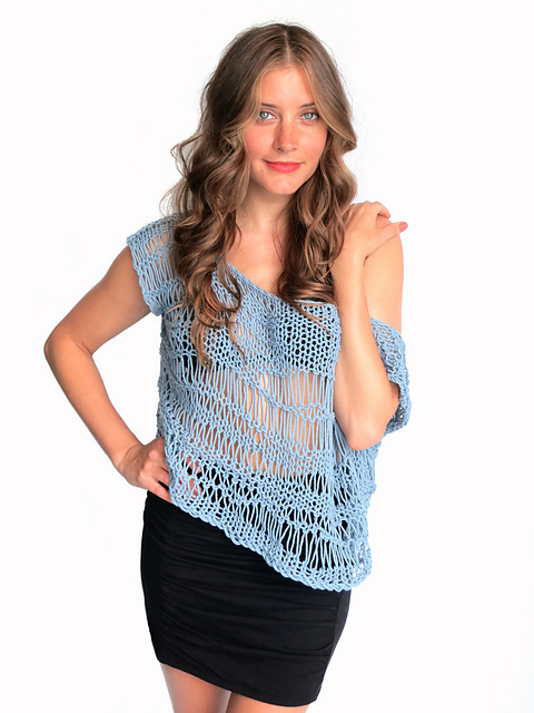 Ravelry: Shipwrecked Top pattern by Alexandra Tavel