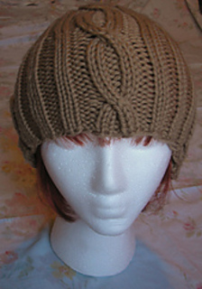 Camel_bulky_cable_hat_front_small2