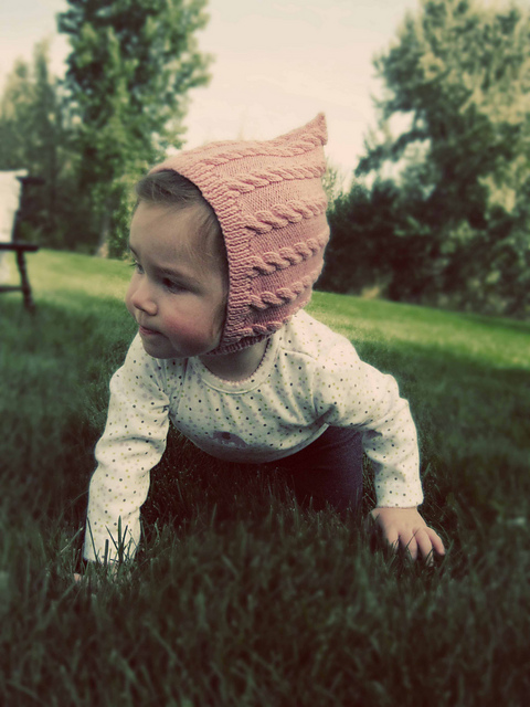 Ravelry: Pixie Cable Hat pattern by Allison Baker