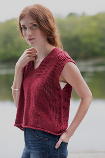 Ravelry Fragaria Tee Pattern By Amy Palmer