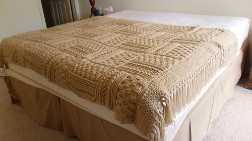 Ravelry Leisure Arts 4948 Aran Afghans To Crochet Patterns