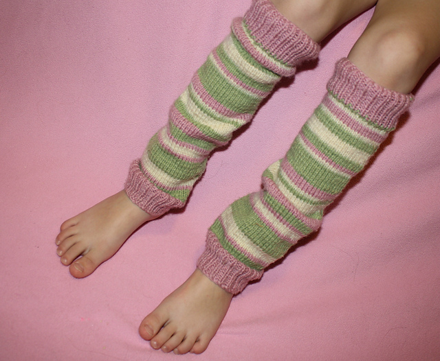 Ravelry Leg Warmers Little Girl Pattern By Kristen Ohara