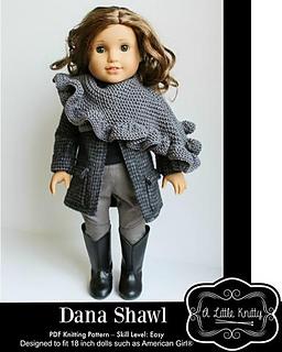 a26f6df60 Ravelry  Dana Shawl pattern by A Little Knitty Designs