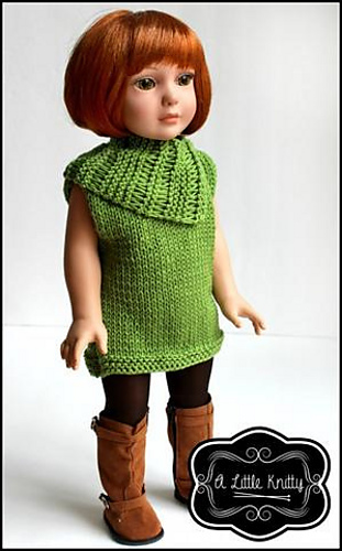 a662448ef Ravelry  Matilda Tunic   Cowl pattern by A Little Knitty Designs