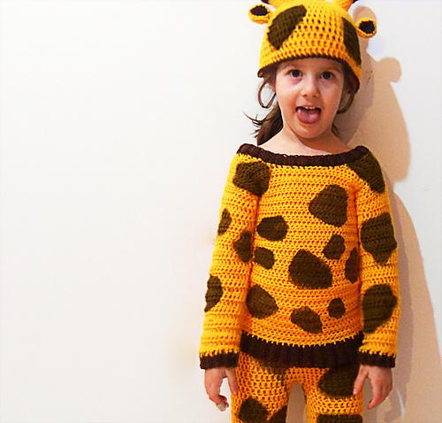 Ravelry: Giraffe crochet costume pattern by Carla Medda