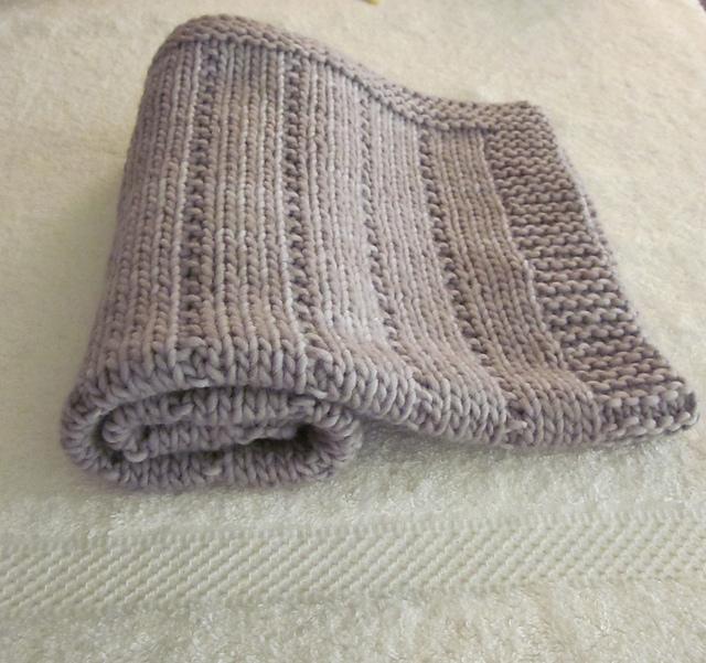 Ravelry Newborn Baby Blanket Pattern By Altadena Green