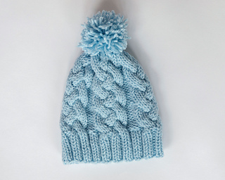 b7df0a02048 Ravelry  Braided Cable Knit Hat pattern by Leelee Knits