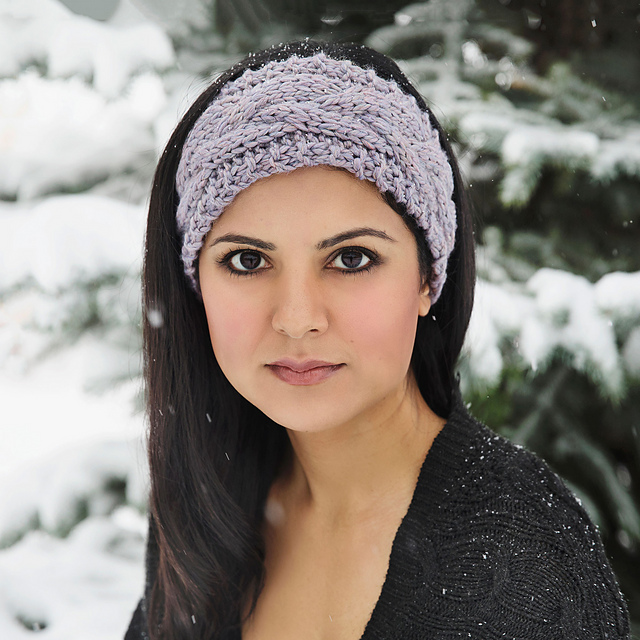 93761cb6b1aaa Ravelry  The Softest Winter Headband pattern by Leelee Knits