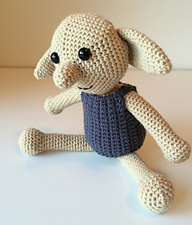 Ravelry  Dobby the House Elf pattern by Lucy Kate 35dfce24563