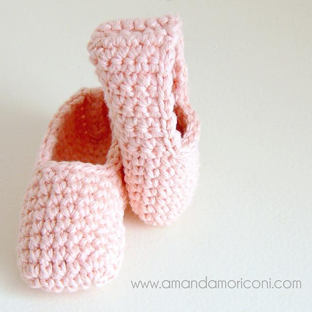 Ravelry: Baby Ballerina Ballet Shoes Crochet Pattern pattern by ...