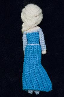 Ravelry: Elsa (Frozen) Amigurumi Crochet Pattern pattern ...