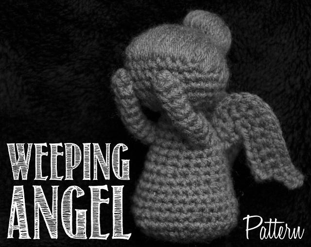 Ravelry Weeping Angel Doctor Who Amigurumi Crochet Pattern