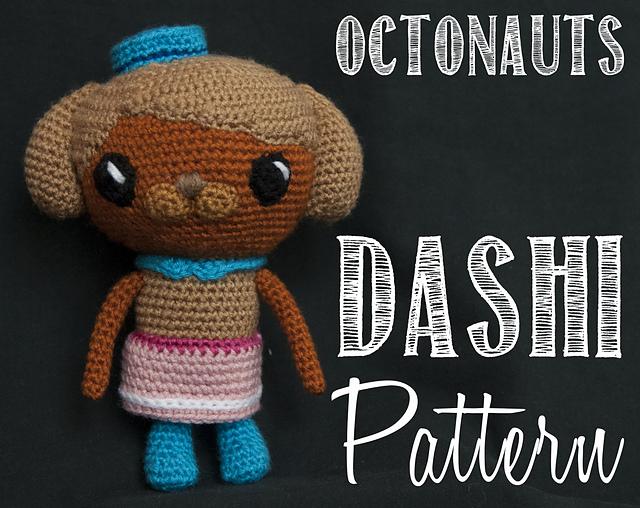 Ravelry Dashi Sauci The Octonauts Amigurumi Crochet Pattern