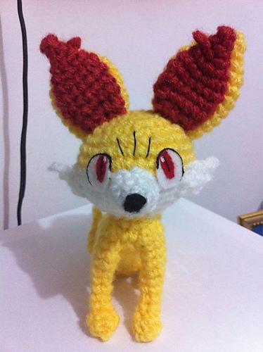 Ravelry: Fennekin Inspired Fox (Pokemon) pattern by Amanda L. Girão