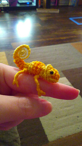 Ravelry Leo The Tiny Chameleon Pattern By Wee Creatures
