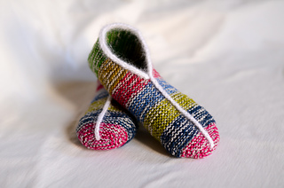 Knitting Easy Slippers : Super easy slippers tutorial for beginners youtube