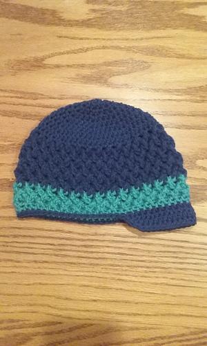Ravelry Criss Cross Newsboy Hat Pattern By Ana Benson