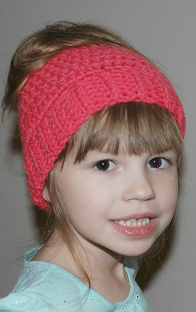 0d6bbe2a183 patterns   Amy s Crochet Patterns.   Child Messy Bun Ponytail Hat