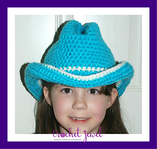 143cc94776a Ravelry  Cowboy or Cowgirl Hat pattern by Amy Lehman