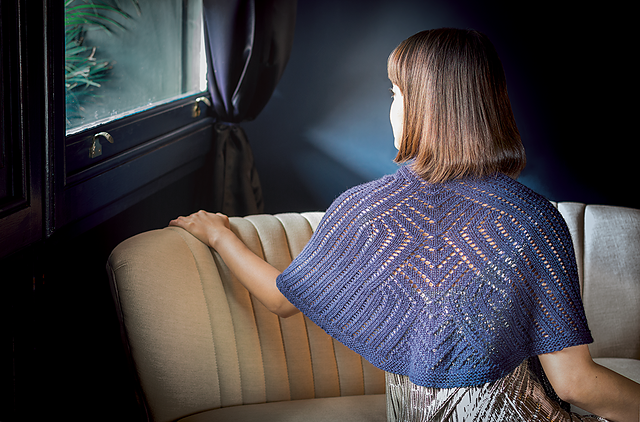 Deco City Shawl by Amy van de Laar