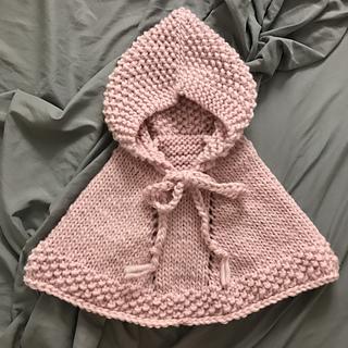 4369753c9 Ravelry  b16-1 Little Peach Poncho pattern by DROPS design