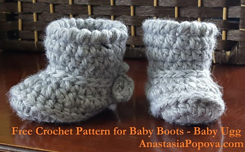 Ravelry Baby Boots Baby Ugg Pattern By Anastasia Popova
