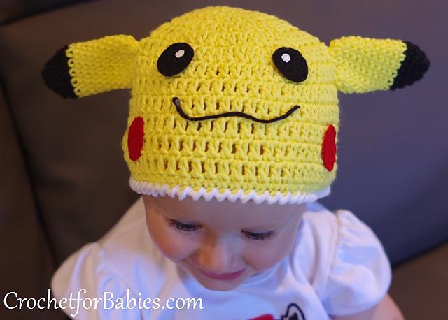 Ravelry Pikachu Beanie Pattern By Anastasia Popova