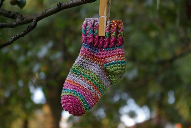 Ravelry Arianna Baby Socks Pattern By Anastasia Popova