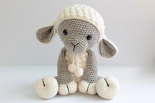 Amigurumi : Ravelry amigurumi lamb sheep pattern pattern by anat tzach