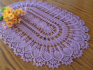 Pineapple Garden pattern by Mayumi Sato