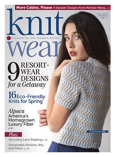 Ravelry Knitwear Springsummer 2018 Patterns